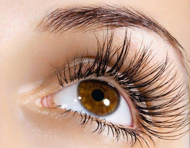 How to obtain false eyelash effect