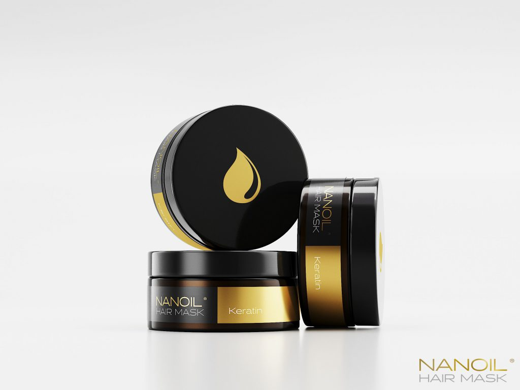 the best hair masks with keratin Nanoil