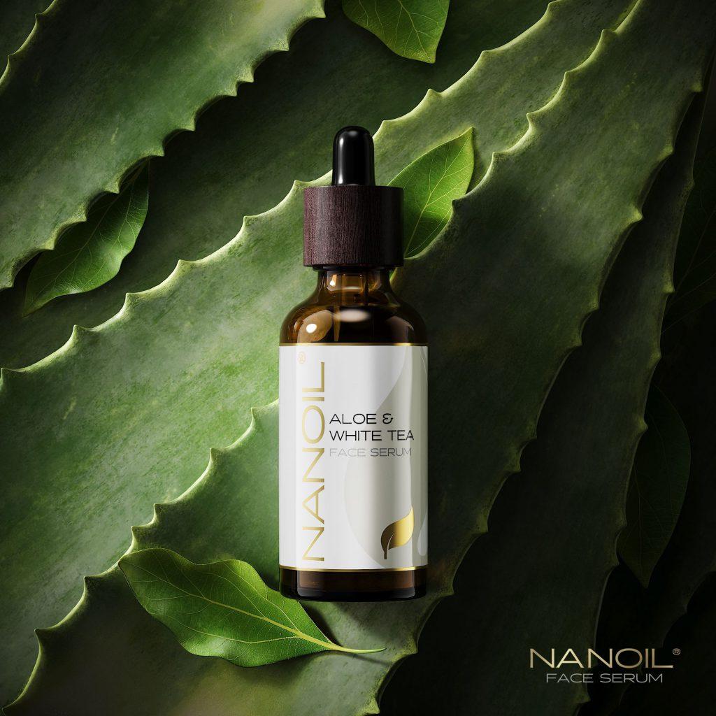 nanoil aloe face serum